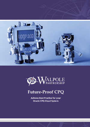 Future-proof CPQ