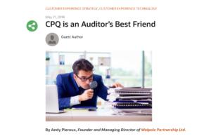 CPQ is an Auditor's Best Friend