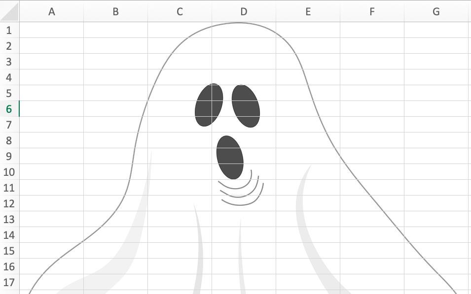 Spreadsheet Ghost