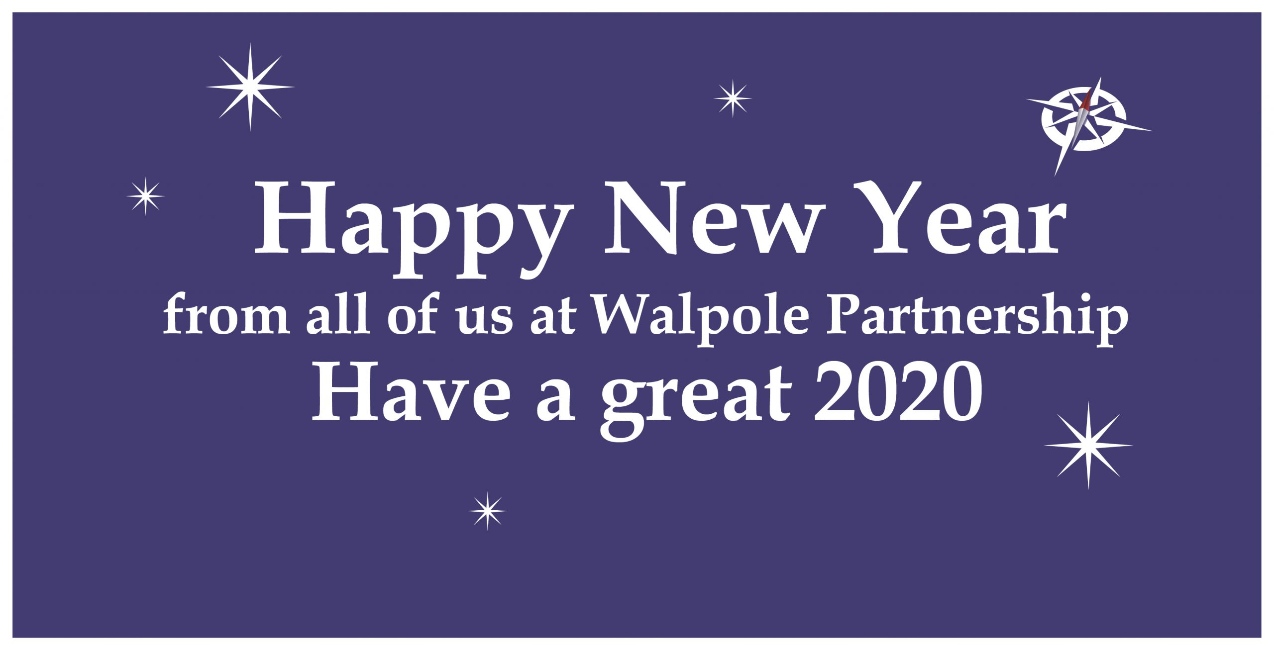 Happy New Year from Walpole Partnership