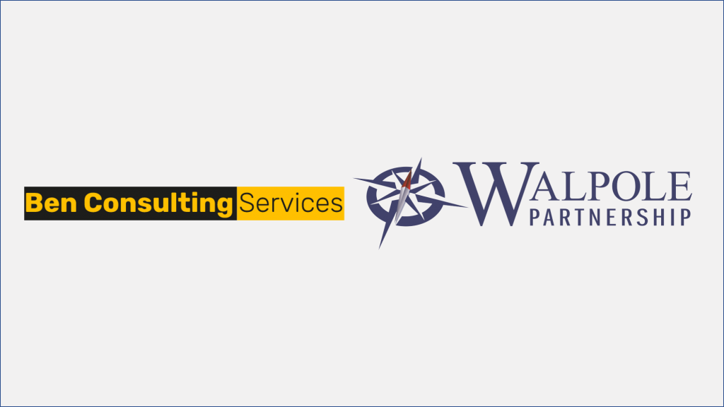 Walpole Partnership and Ben Consulting Services Logo