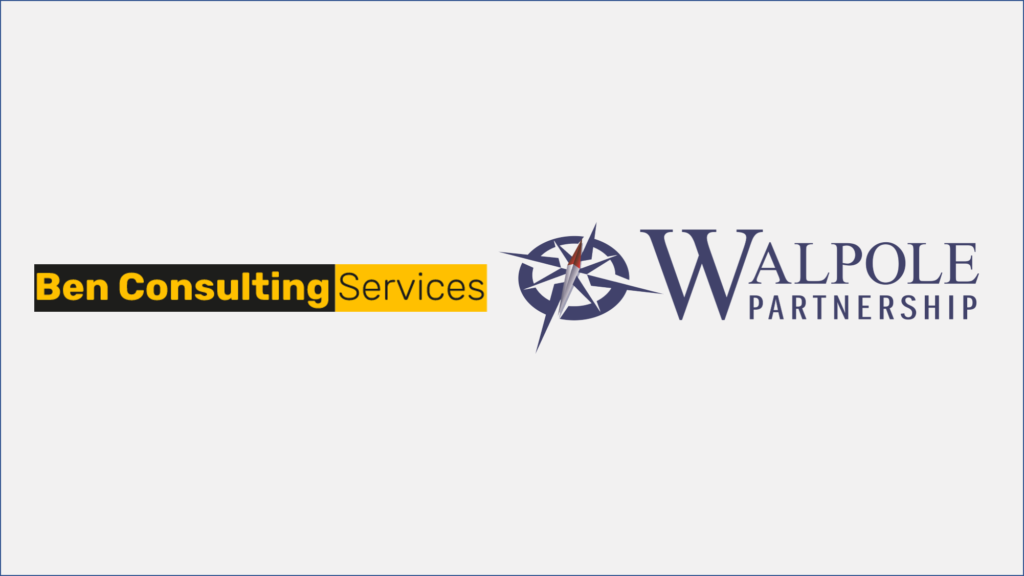 Walpole Partnership and Ben Consulting Services Logos