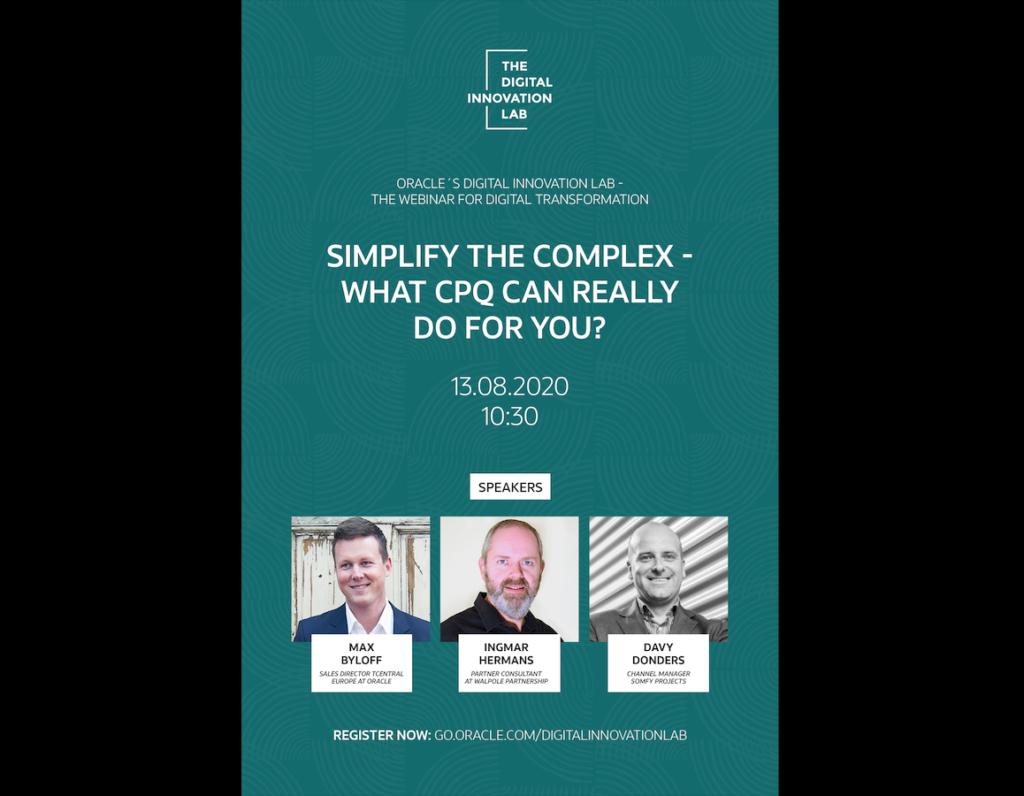 Simply the Complex - CPQ Webinar