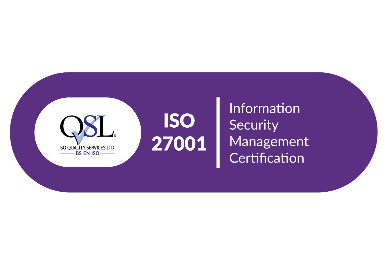 ISO QSL ISO 27001 Logo